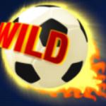 Wild symbol z online automatu Football Fans