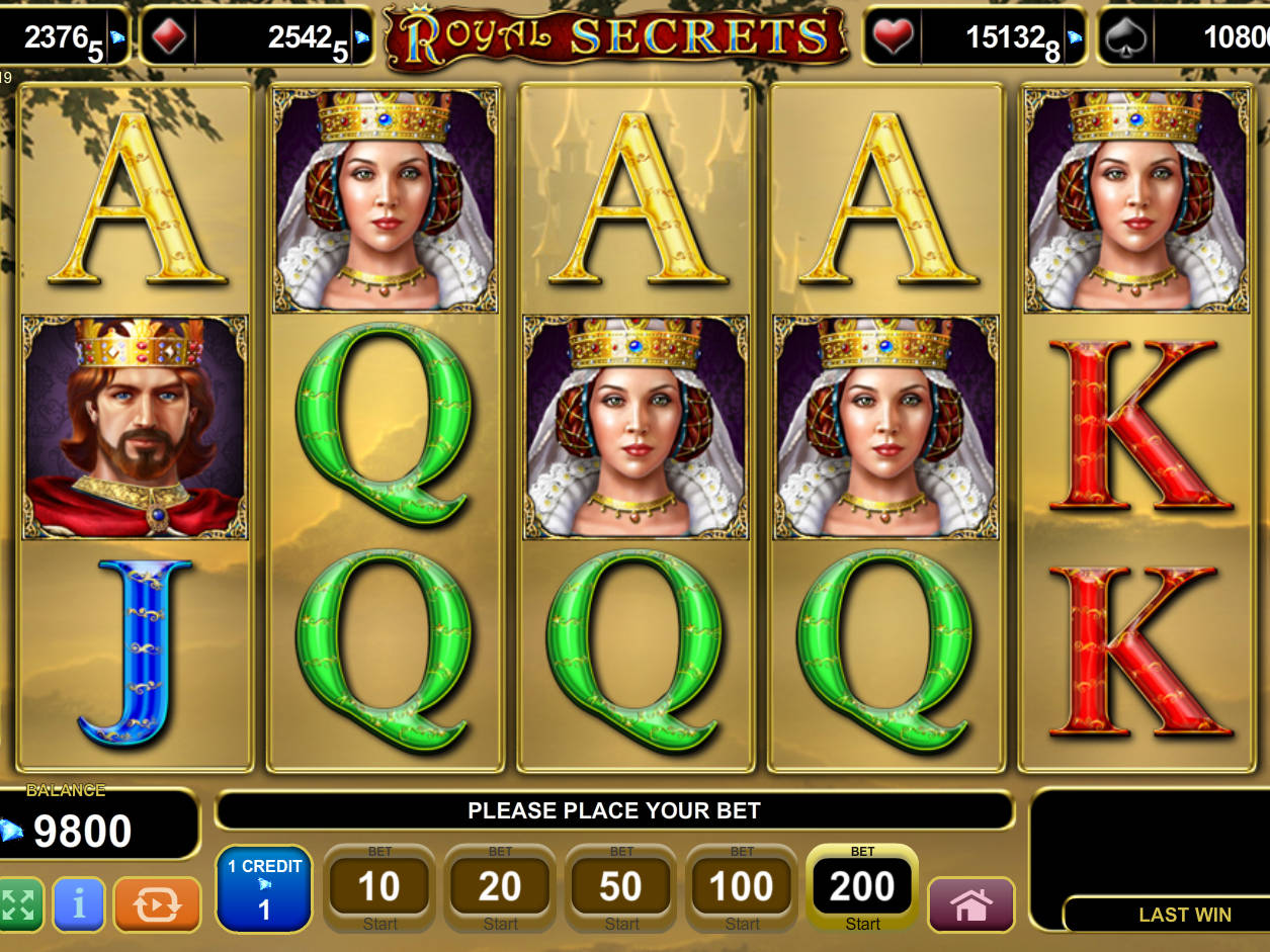 online casino test royal secrets