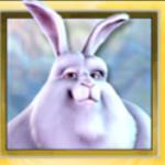 Wild symbol ze hry automatu Big Buck Bunny