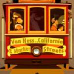 Scatter symbol ze hry Golden Gate online