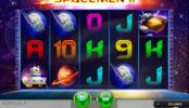Roztočte hrací automat Spacemen II online zdarma