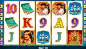 Casino automat Captain Venture online