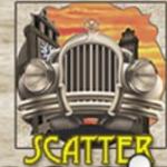 Scatter symbol ze hry automatu Chicago online