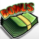 Bonusový symbol ze hry automatu Hot Cash