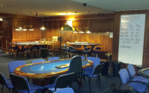 Casino Černigov - pokerová místnost