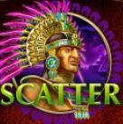 Scatter symbol z hracího automatu Aztec Slots online