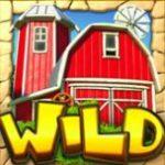 Wild symbol z online automatu Cash Farm