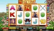 Herní automat Dynasty online zdarma