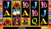 Herní automat Lucky Rose online zdarma