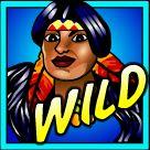 Symbol wild z automatu Totem Treasure zdarma