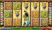 Hrací kasino automat Cleopatra Treasure