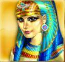 Symbol scatter z herního automatu Cleopatra Treasure