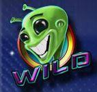 Symbol wild ze hry automatu Cosmic Invaders