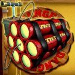Scatter/Wild symbol ze hry automatu Explosive Reels