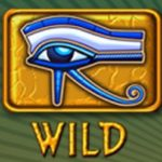 Wild symbol ze hry Eye of Ra bez registrace