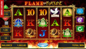 Online herní automat Flame of Fortune