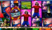 Hrací online automat zdarma Football Carnival