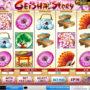 Online kasino automat Geisha Story