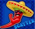 Scatter symbol ze hry Red Chilli online zdarma