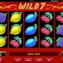 Hrací online automat Wild 7 bez stahování