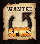 Symbol volných spinů ze hry automatu Gunslinger's Gold