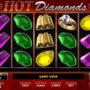 Obrázek ze hry automatu Hot Diamonds bez registrace
