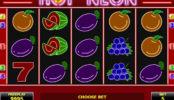 Online automat bez stahování Hot Neon