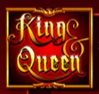 King and Queen online automat - wild symbol
