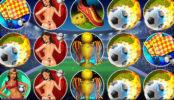 Obrázek ze hry automatu Soccer Babes