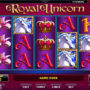 Automat bez registrace online Royal Unicorn