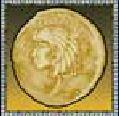 Bonusový symbol ze hry automatu Cleopatra's Coins online