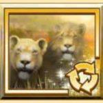 Symbol volných spinů ze hry autmatu Lion's Roar
