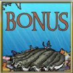 Symbol bonusu z automatové hry Ocean Treasure