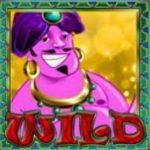 Wild symbol ze hry automatu Genie's Treasure