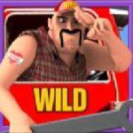 Wild symbo z automatové hry Highway Kings Pro