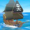 Symbol bonusu ze hry automatu Jolly Roger's Jackpot