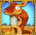 Wild symbol - herní online automat Armadillo Artie