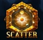 Scatter symbol ze hry online automatu Astro Magic