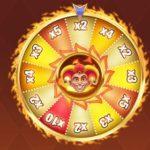Kolo štěstí z herního automatu Fire Joker