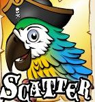 Symbol scatter z herního automat Jolly Roger