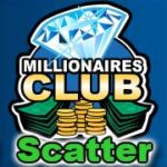 Symbol scatter ze hry automatu Millionaires Club II