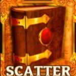 Scatter symbol z online automatu Amun's Book