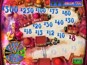 Bonusová hra z výherního automatu Arabian Charms