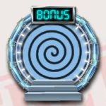 Bonusový symbol ze hry online automatu Austin Powers