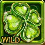 Wild symbol z online automat Lucky Clover