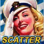 Scatter symbol - online herní automat Navy Girl