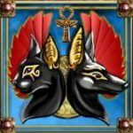 Scatter symbol z online automatu Temple Cats