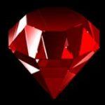 Symbol wild z online hracího automat Wild Rubies