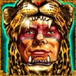 Symbol wild z online automatu Jaguar Warrior