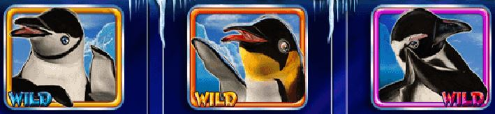Symboly wild - online automat Lucky 3 Penguins